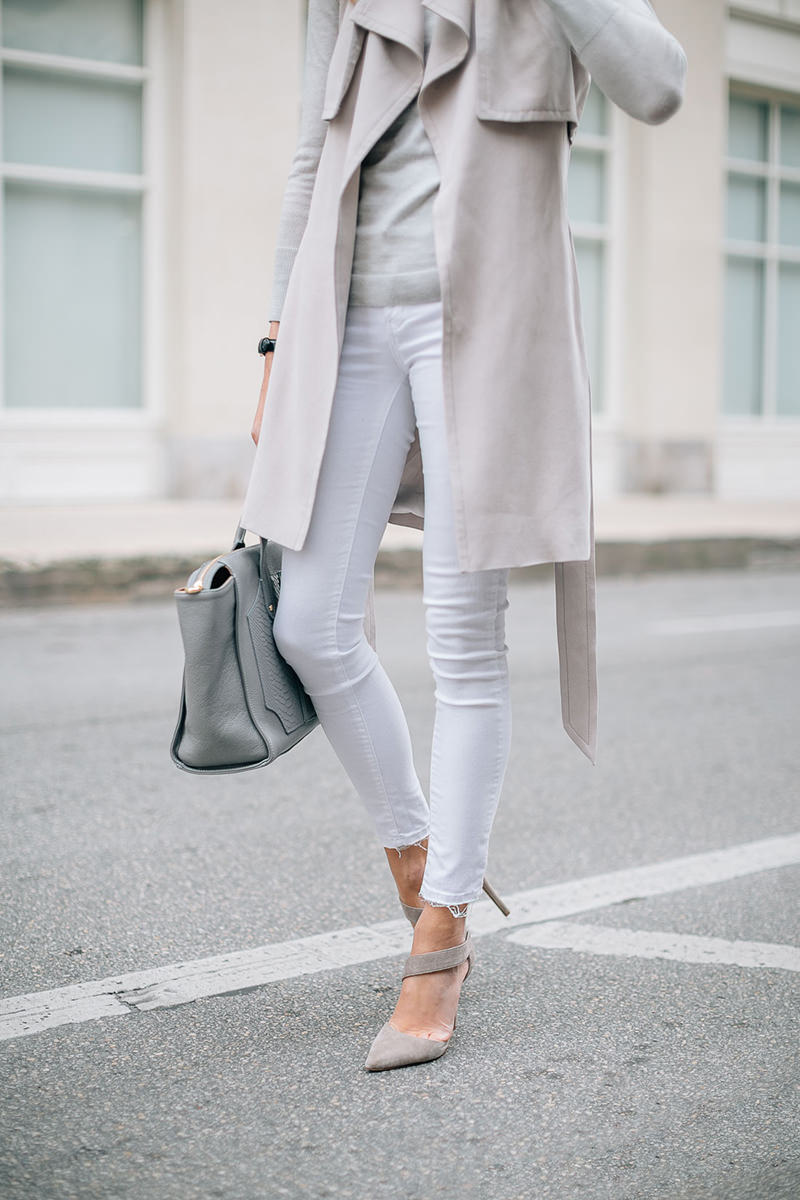 fashion-jackson-white-skinny-jeans-club-monaco-trench-vest-grey-sweater