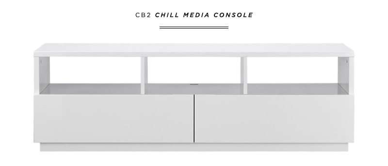 danielle moss cb2 chill media console interiors