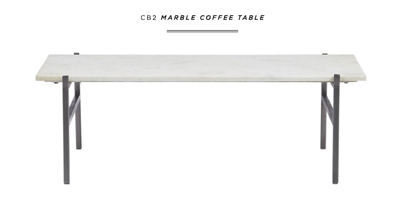 danielle moss cb2 coffee table interiors