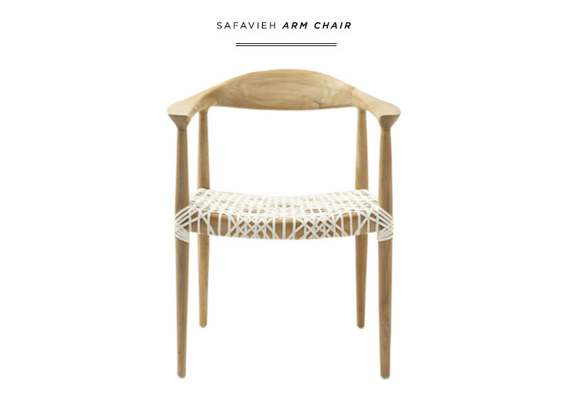 danielle moss safavieh arm chair interiors