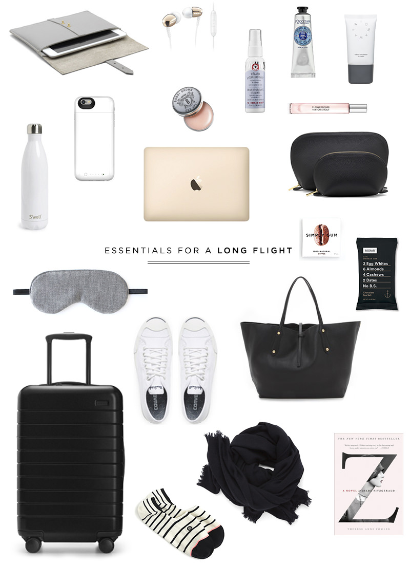 Travel Essentials For A Long Flight