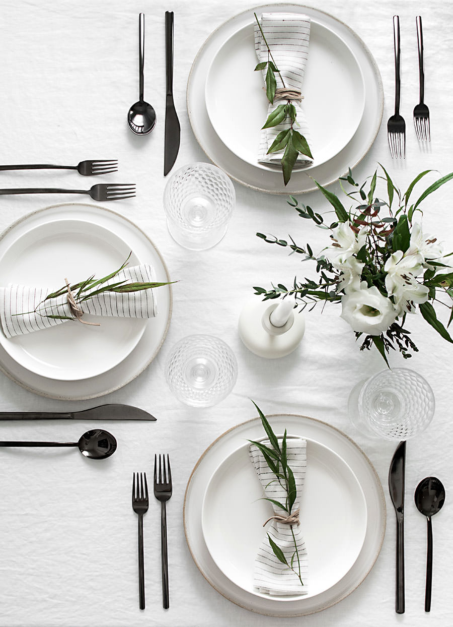 Set the table for Simple table setting